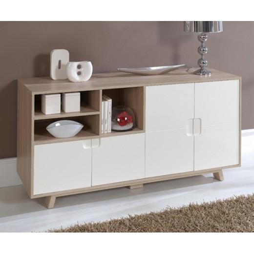 Artesanato Com Pneus ~ Aparador comedor salón en roble y blanco Calidad y diseño en Dekodirect